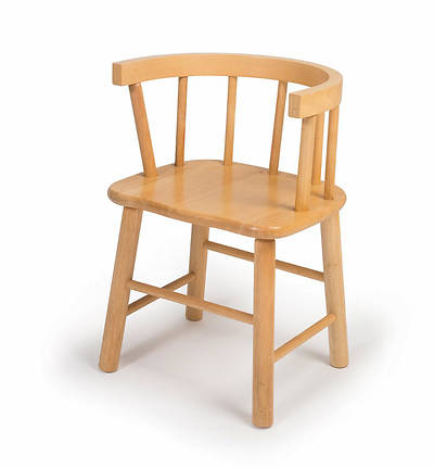 Childrens Bentwood Back Hardwood Chair