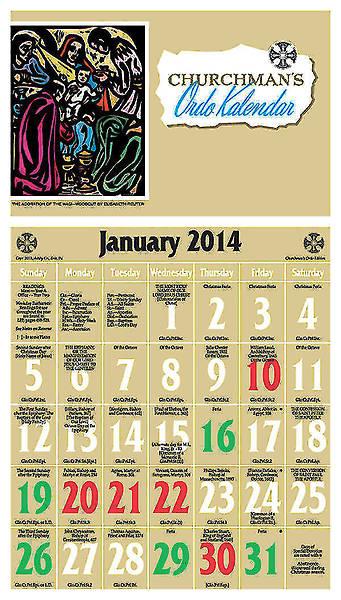 Picture of 2014 Ordo Kalendar