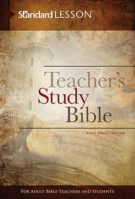 Standard Lesson Teachers Study Bible KJV Hardcover