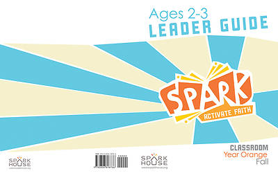Picture of Spark Classroom Ages 2-3 Leader Guide Year Orange Fall
