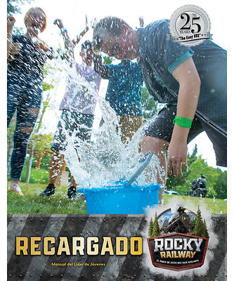 Picture of Vacation Bible School VBS 2021 Rocky Railway Fueled Youth Leader Manual (Spanish for Bilingual Edition)