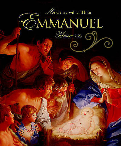 Emmanuel Christmas Nativity Bulletin 2012, Large Size (Package of 50)