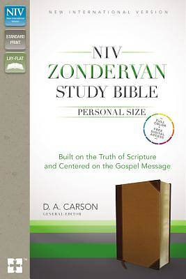 NIV Zondervan Study Bible, Personal Size, Indexed