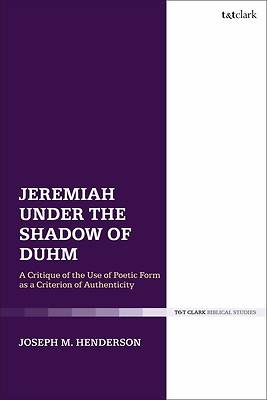 Picture of Jeremiah Under the Shadow of Duhm