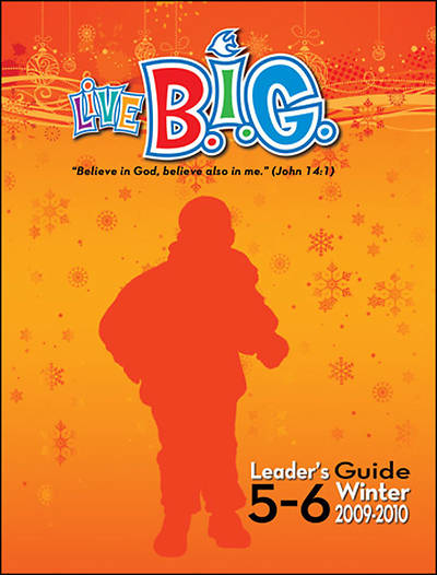 Picture of Live B.I.G. Ages 5-6 Leader's Guide Winter - Download