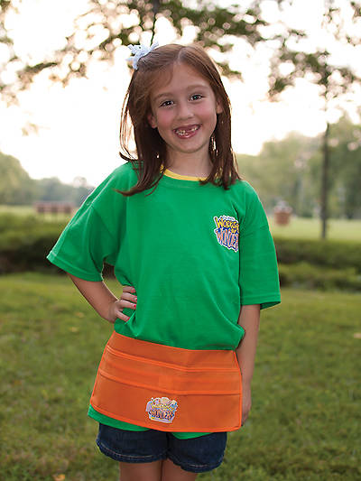 Vacation Bible School (VBS) 2014 Workshop of Wonders Scripture Treasure Shop Aprons (Pkg of 6)