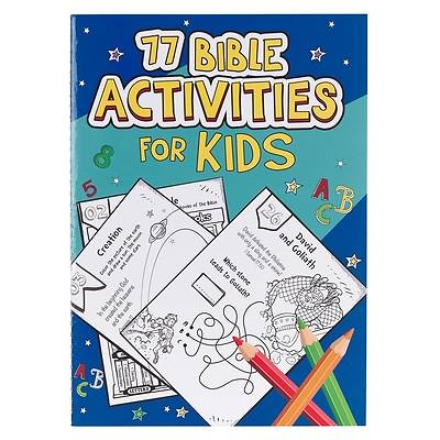 Picture of Book Softcover 77 Bible Activities for Kids