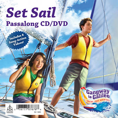 Concordia VBS 2014 Gangway to Galilee Set Sail Passalong CD/DVD