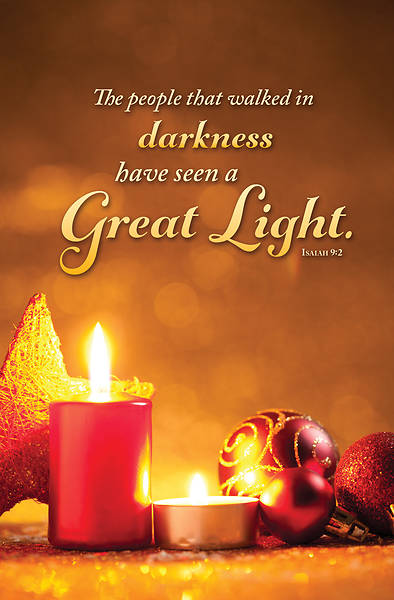 Picture of Great Light Christmas Regular Size Bulletin