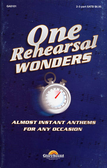 One Rehearsal Wonders Choral Book