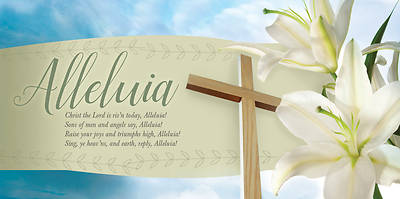 Christ the Lord is Risen Today Easter Offering Envelope