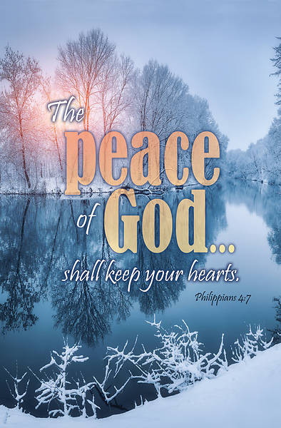 Picture of The Peace of God General Regular Size Bulletin