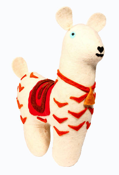 Picture of Felted Friends Llama