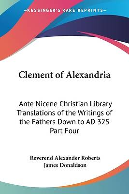 Picture of Clement of Alexandria