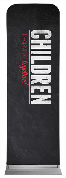 Picture of Slate Children Sleeve Banner