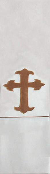 Picture of Trinity Cross White Stole