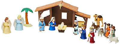 Picture of Nativity Playsets with Talking Mary Figurine