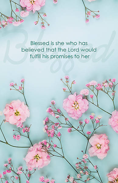 Picture of Blessed is She Women's Day Regular Size Bulletin