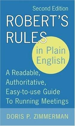 Roberts Rules in Plain English