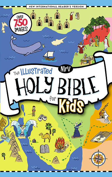 Picture of NIRV The Illustrated Holy Bible for Kids, Hardcover, Full Color, Comfort Print