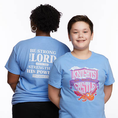 Picture of Vacation Bible School (VBS) 2020 Knights of North Castle Leader T-Shirt Size Small
