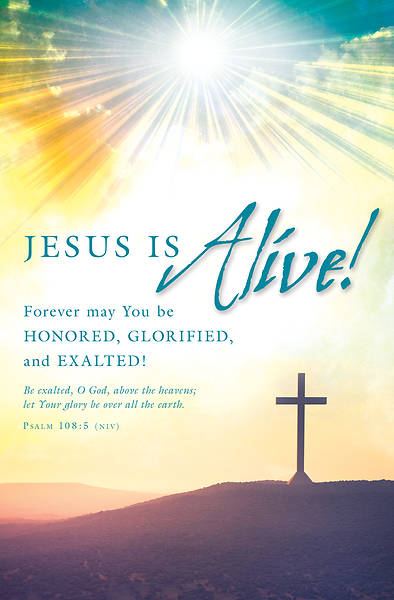 Jesus is Alive! Easter Bulletin