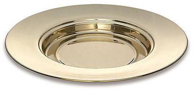 Picture of Sudbury LS746 Solid Brass Bread Plate