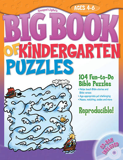 The Big Book of Kindergarten Puzzles 1