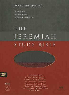 Picture of The Jeremiah Study Bible, NKJV