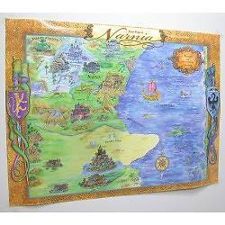 Picture of Chart Wall Map Of Narnia Laminated