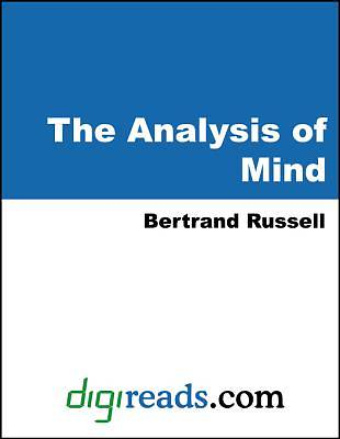 The Analysis of Mind [Adobe Ebook]