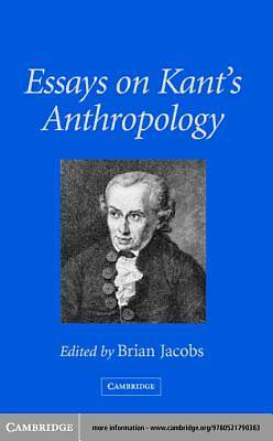 Essays on Kants Anthropology [Adobe Ebook]