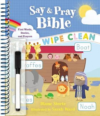 Say and Pray Bible Wipe Clean