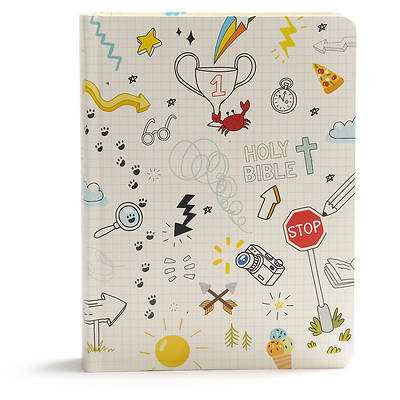 Picture of CSB Journal and Draw Bible for Kids, White
