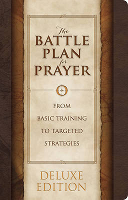 Picture of The Battle Plan for Prayer, Leathertouch Edition