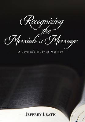 Picture of Recognizing the Messiah's Message