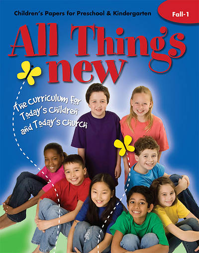 All Things New Fall 1 Childrens Papers (Preschool/Kindergarten)