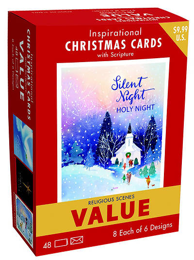 Inspirational Christmas Card Value Pack -Silent Night