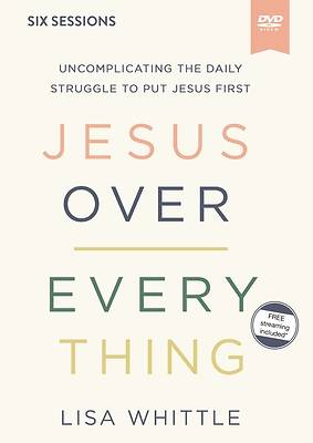 Picture of Jesus Over Everything Video Study