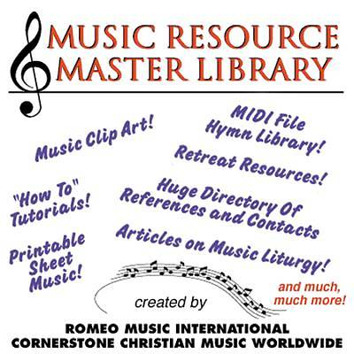 Music Resource Master Library