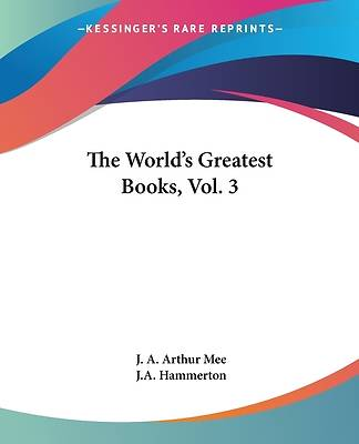 Picture of The World's Greatest Books, Vol. 3