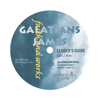 Kerygma Galatians & James Leaders Guide CD-Rom/DVD