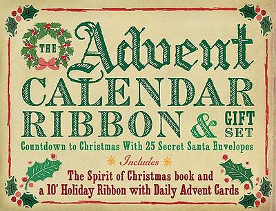The Advent Calendar Ribbon & Gift Set