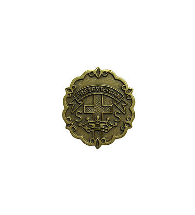 Presbyterian 3 Month Sunday School Attendance Pin