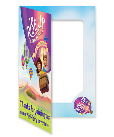 Picture of Rise Up With Jesus: Follow-Up Foto Frame (10/pkg)