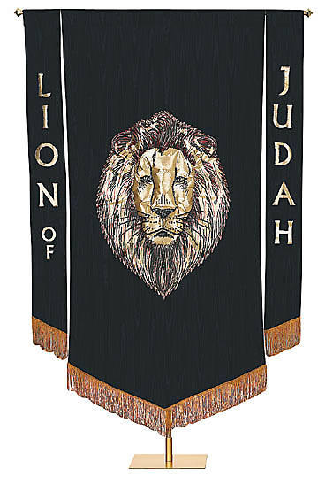 Banner Lion of Judah 3.5 ft.x 5 ft.