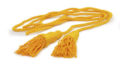 GOLD CORD & TASSELS FOR FLAGS