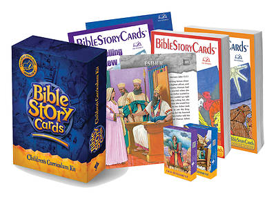 Bible Story Cards Childrens Curriculum Kit