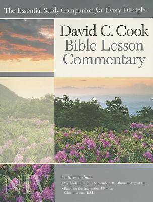 David C. Cook NIV Bible Lesson Commentary 2013-14