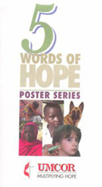 Picture of UMCOR Poster Set - 5 Words of Hope